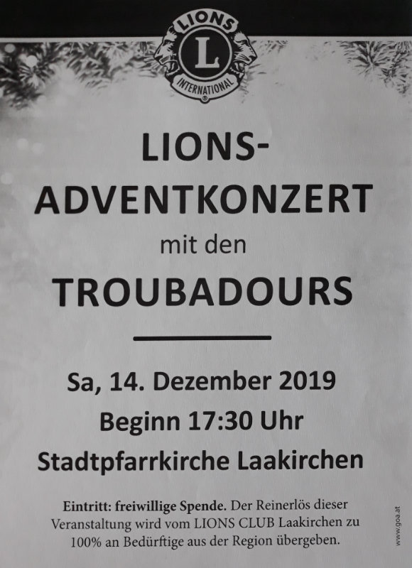 Einladung Troubadours
